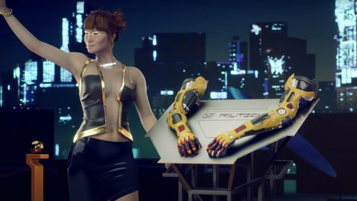 Cyberpunk 2077 Melee Build - Gorilla Arms build cyberware