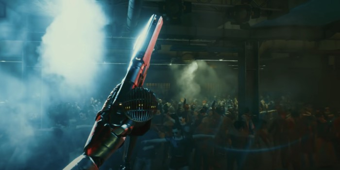 Cyberpunk 2077 Pistol Build - Johnny Silverhand holding mic