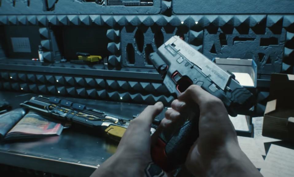 Cyberpunk 2077 Stealth Build - Handgun in action