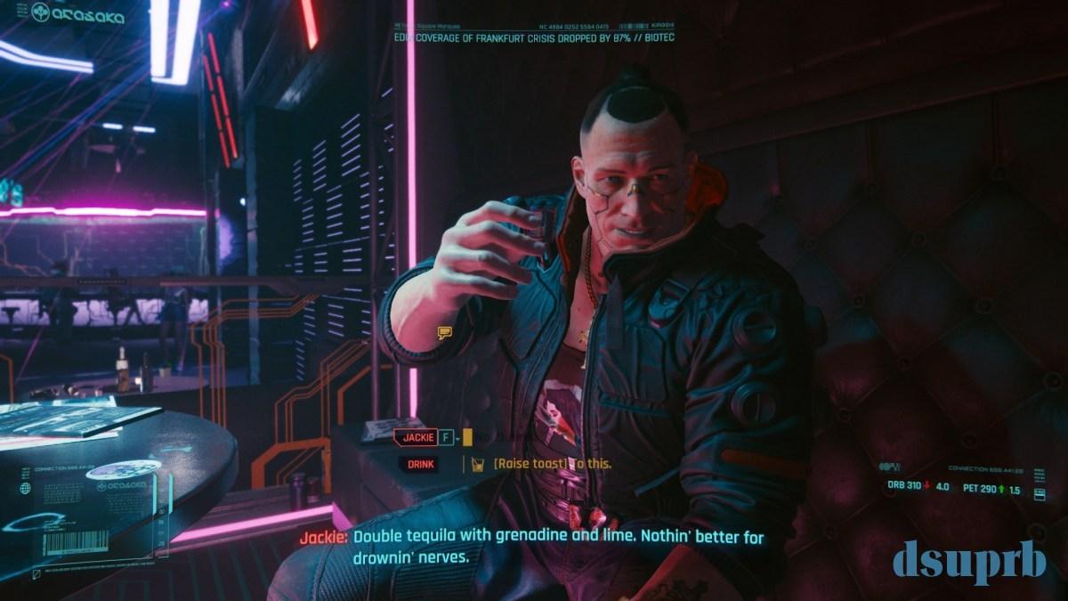 Cyberpunk 2077 - Tribute To Jackie - WPGamePlay