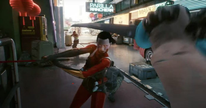 Katana Build Cyberpunk 2077 - Katana fights
