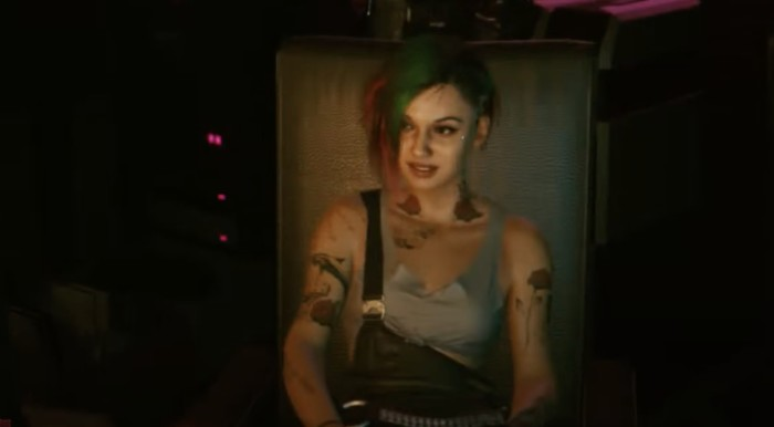 What Happens if You Romance Judy Alvarez in Cyberpunk 2077? Judy Sitting at her chair.