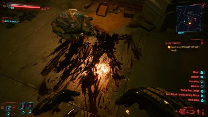 Cyberpunk 2077 Disasterpiece Walkthrough - Bloody Shirt