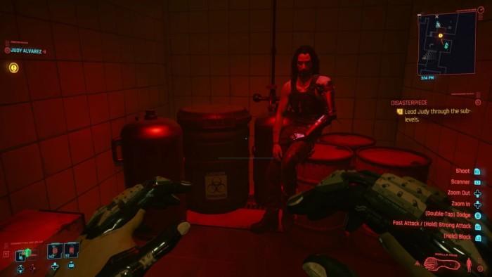 Cyberpunk 2077 Disasterpiece Walkthrough - Johnny on RPM Barrels