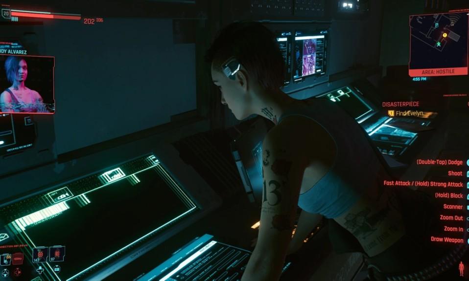 Cyberpunk 2077 Disasterpiece Walkthrough - Judy at Laptop