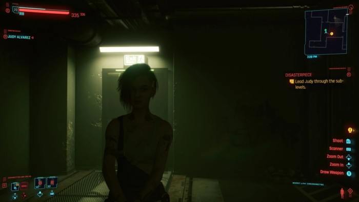 Cyberpunk 2077 Disasterpiece Walkthrough - Judy by the Door
