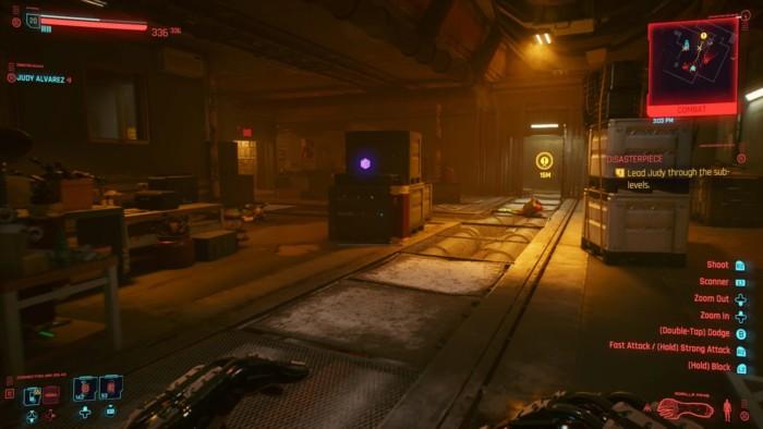 Cyberpunk 2077 Disasterpiece Walkthrough - Machine Shop