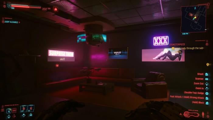 Cyberpunk 2077 Disasterpiece Walkthrough - Small Office