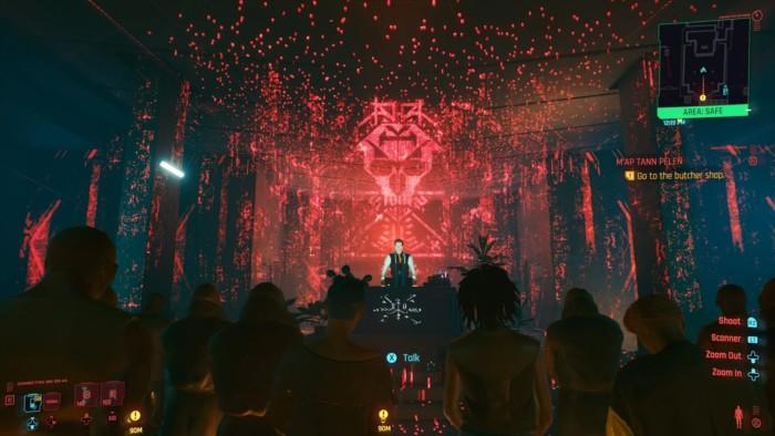 Map Tann Pelen Walkthrough Cyberpunk 2077 - Funeral Scene