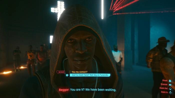 Map Tann Pelen Walkthrough Cyberpunk 2077 - Man Inside Church